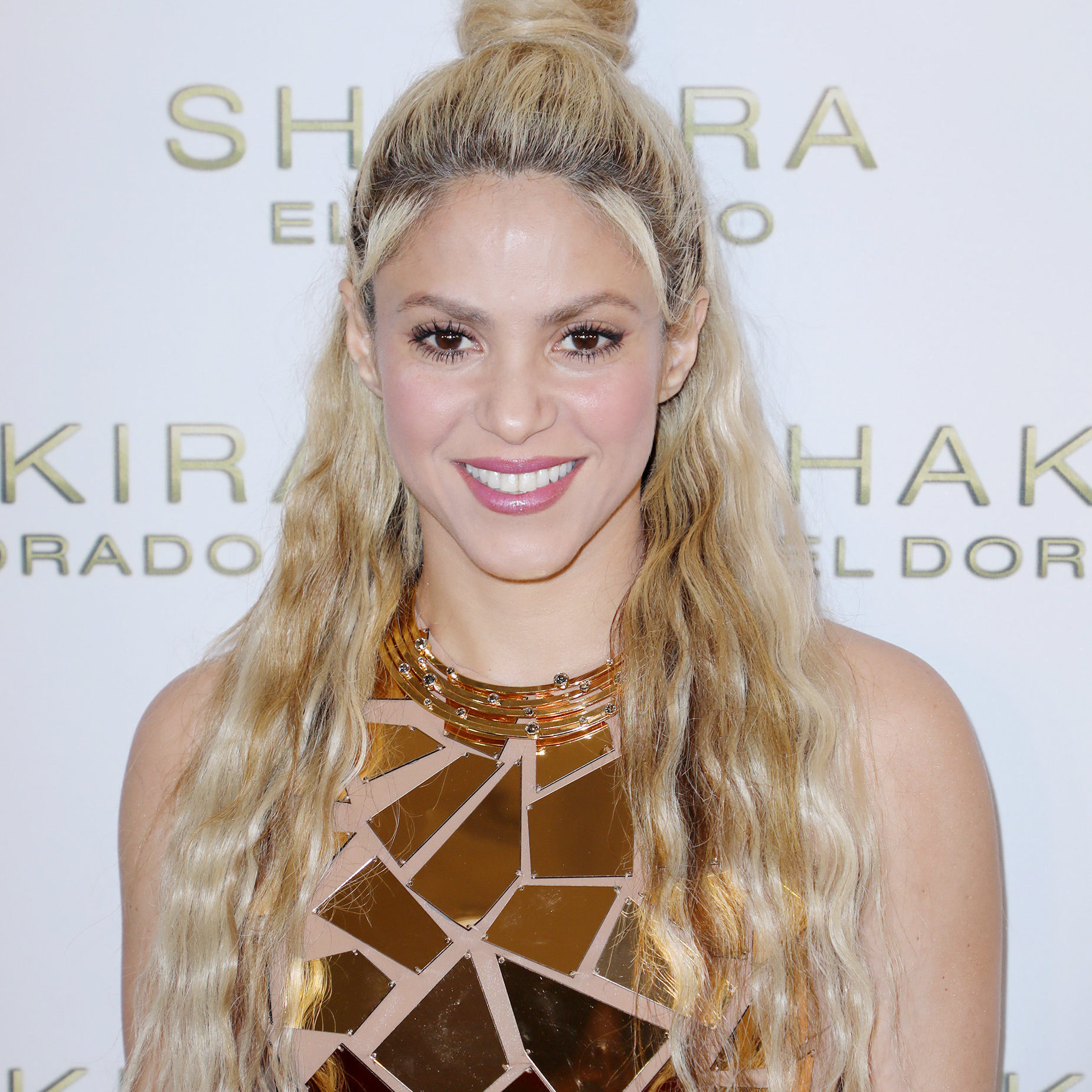 """MIAMI BEACH, FL - MAY 25:  Shakira is seen at her """"El Dorado"""" Album Release Party at The Temple House on May 25, 2017 in Miami, Florida.  (Photo by Alexander Tamargo/Getty Images)"""